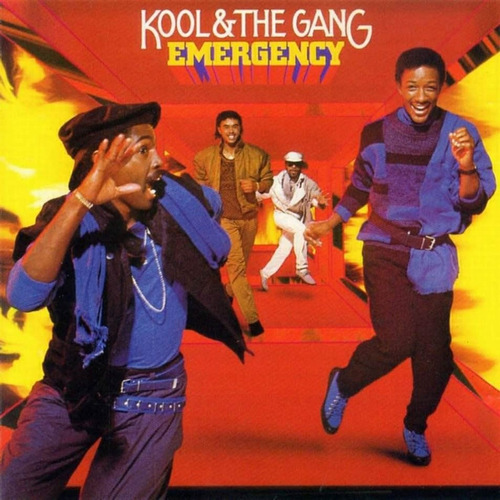 emergency, kool & the gang. funk. cassette.