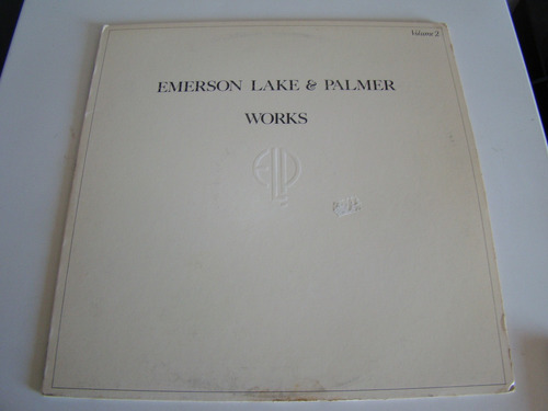 emerson lake and palmer works vol 2 lp usa vinilo excelente