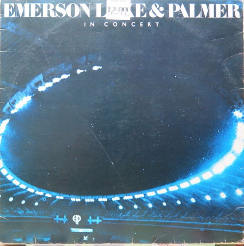 emerson lake & palmer in concert  lp atlantic 1979 encarte