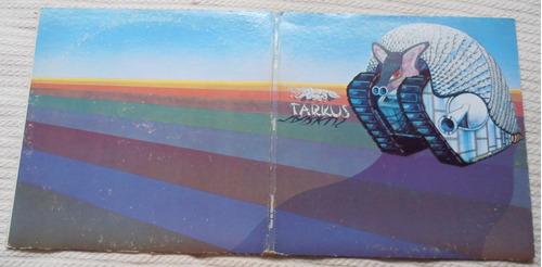 emerson lake & palmer - tarkus (1ra. ed. u s a 1971)