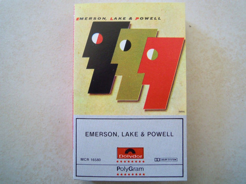 emerson, lake & powell casette 999