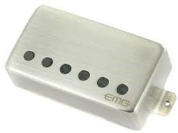 emg set 57/66 humbuckers black