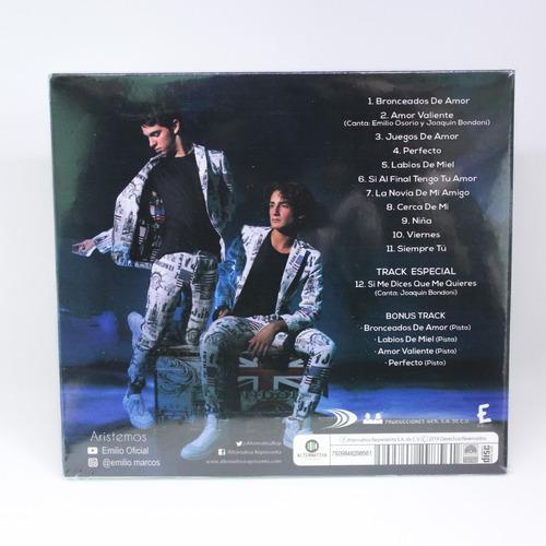 emilio cd original - joaquin bondoni - aristemos