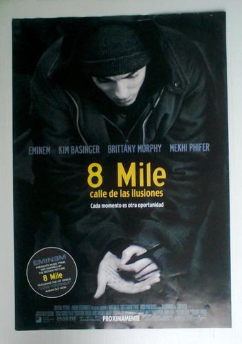 Eminem Mini Poster Original Mexicano - 23.8KB