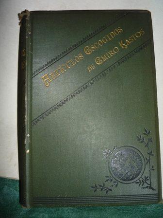 emiro kastos artículos escogidos londres 1886