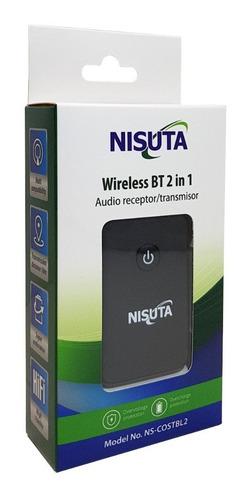 emisor transmisor receptor bluetooth audio tv smart nisuta