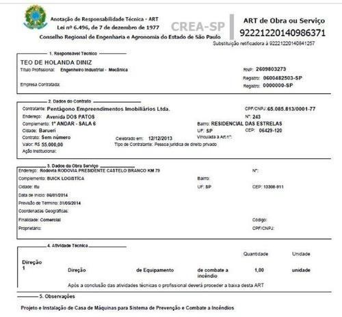emissões de art´s para reformas, laudos técnicos, vistorias.