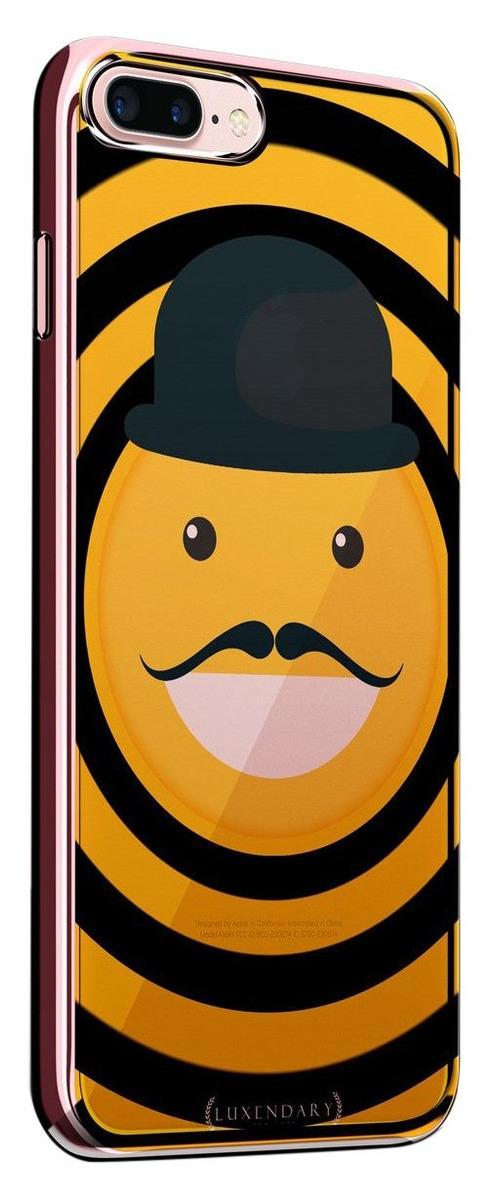 Emoji Con Sombrero Y Bigote | Funda Para Iphone 8 / 7- Más