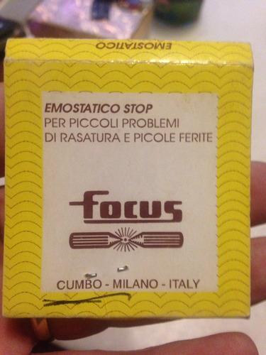emostático antigo decada de 80 italiano cortes raro