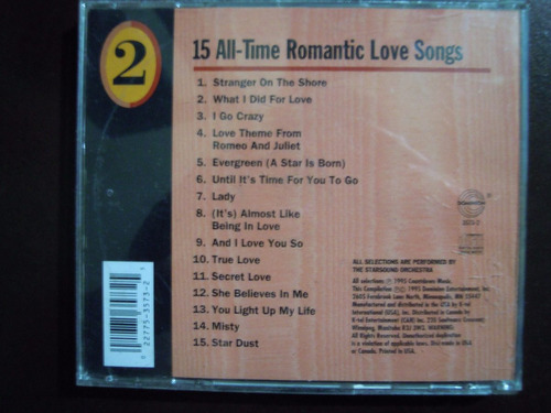 emotions cd 15 all-time romantic love songs