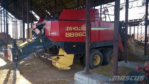 empacadora agrícola de pasto marca newholland bb960 año 2008