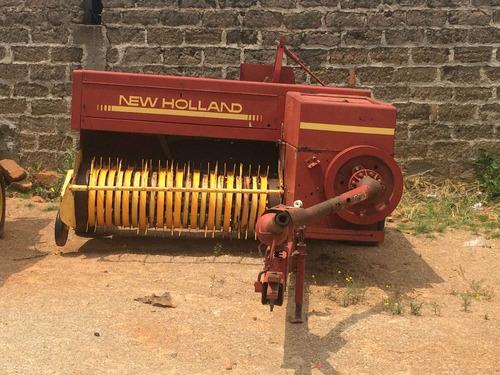 empacadora new hollan 570 alfalfa, rastrojo avena sorgo