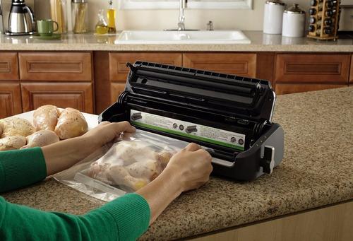 empacadora selladora al vacío foodsaver + 1 rollo + 5 bolsas