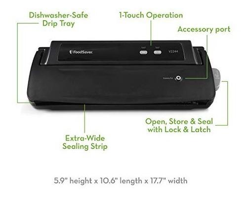 empacadora vacio sistema foodsaver vaccum sealer v2244