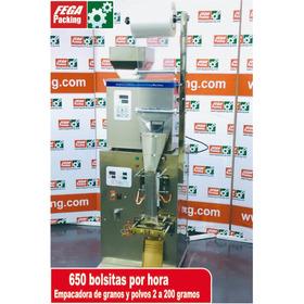 Empacadora Y Dosificadora De Polvos Y Granos Automática