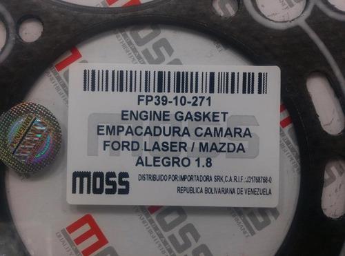 empacadura camara laser 1.8 2000 mazda 626 2.0 allegro 1.8