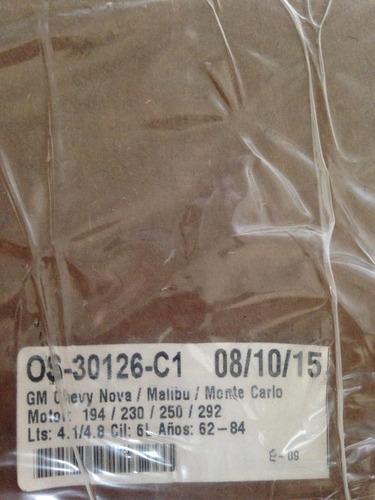empacadura carter gm 250/292 chevy nova/malibu/monte carlos