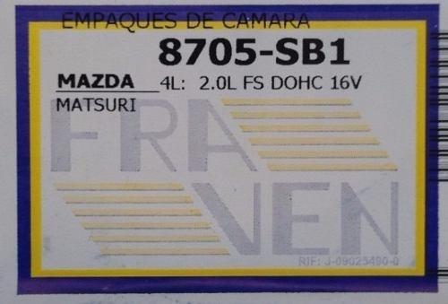 empacadura de camara mazda matsuri 2.0 16v allegro laser 1.8