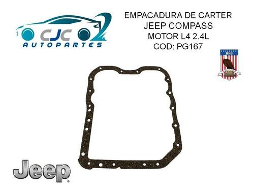 empacadura de carter jeep compass l4 2.4l