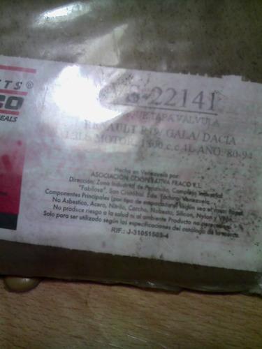 empacadura tapa válvula renault 19/gala/ dacia 1.3/ 80-94