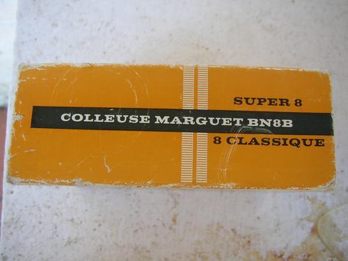 empalmadora super8  editora marguet  bn8b francesa colleuse