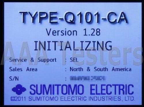 empalme por fusion fibra optica mm. sm. sumitomo type q101ca