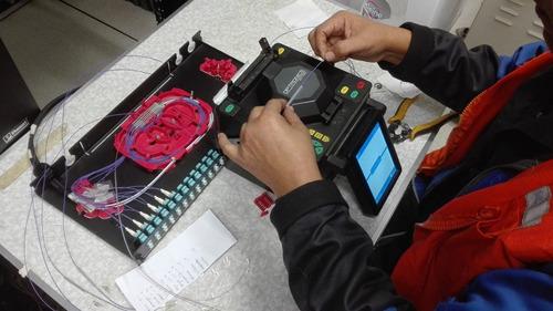 empalmes y conectorizacion por fusion de fibra optica