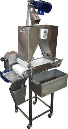 empanadora rebozadora de milanesas producción 100 kgs*hora