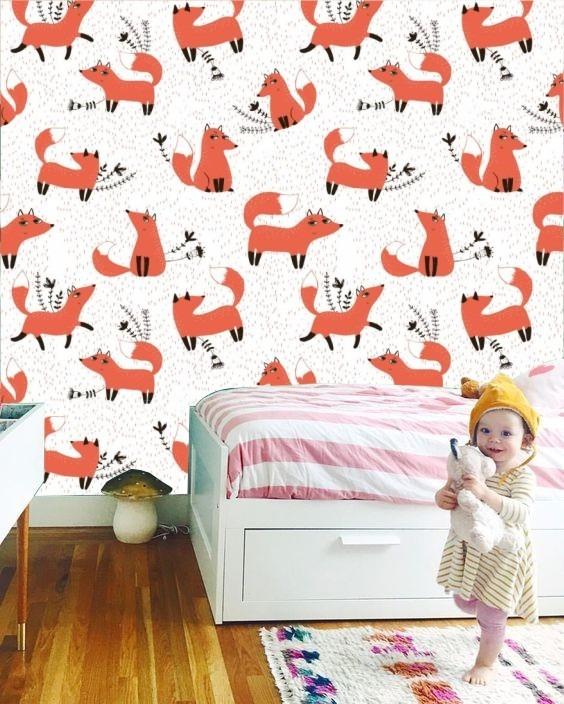 Empapelado Diseño Infantil Vinilo Mural Deco Pared Kids Niño - $ 460 ...