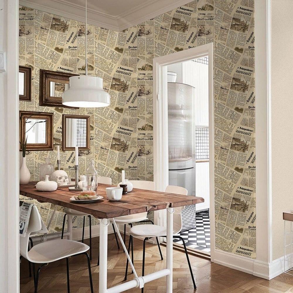 Papel para empapelar paredes finest papeles de empapelar - Papel pared antiguo ...