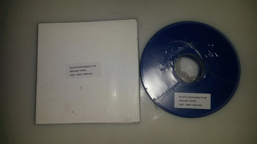 empaque cinta teflón expandible de 6mmx12mmx5mt