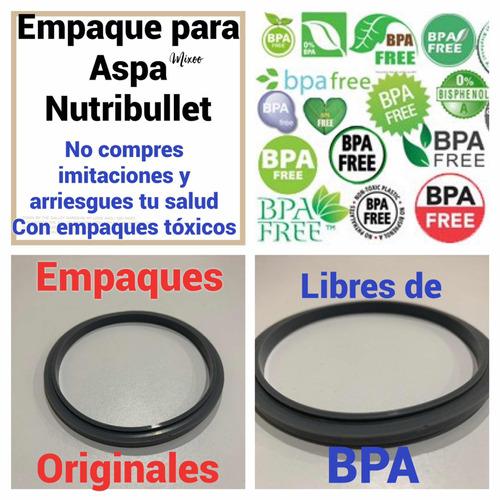 empaque original  nutribullet ( 4 piezas ) libre de bpa