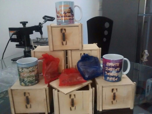 empaques de madera tipo guacal para  obsequios y desayunos