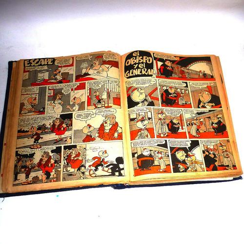 empaste revistas condorito años 80,200 hojas,regular estado