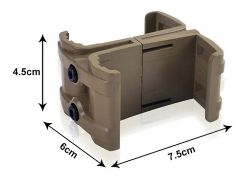 empatador galil ar-15 tavor ak adosador maglink polímero