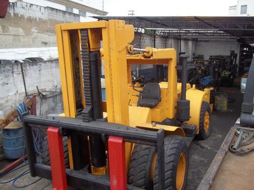 empilhadeira 23 toneladas revisada faço troca