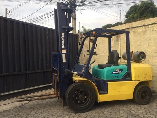 empilhadeira 4 toneladas komatsu fg40 ano: 1999