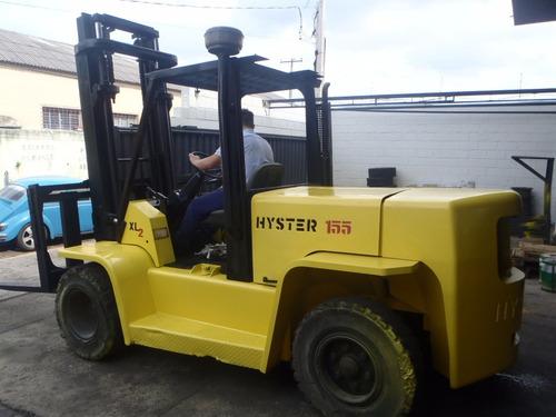 empilhadeira combustão hyster h155xl2