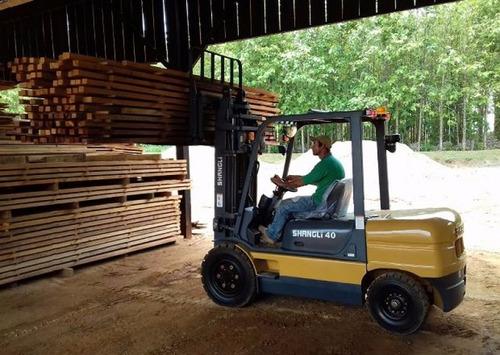 empilhadeira diesel - 4 toneladas - nova