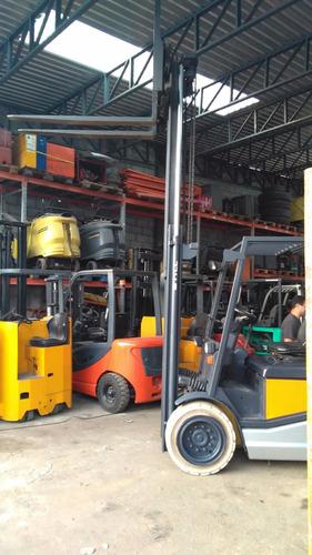 empilhadeira eletrica still 4 toneladas