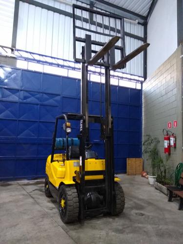 empilhadeira feeler motor nissan - cap. 3.000kg