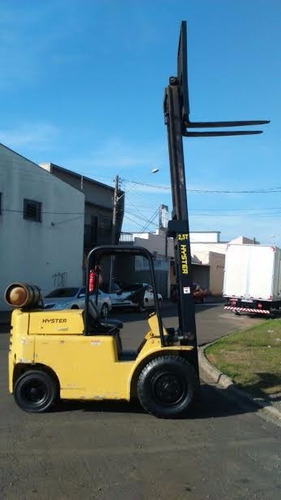 empilhadeira hyster 2,5t 55n cambio manual