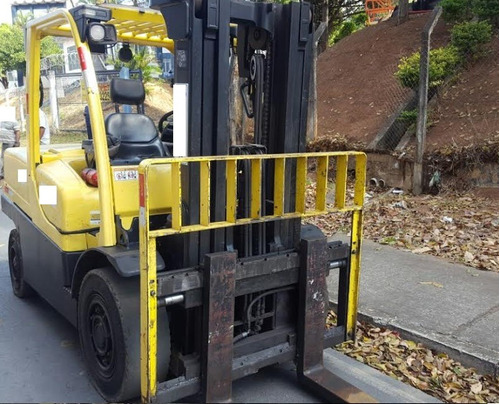 empilhadeira hyster h120ft triplex diesel ano: 2012 6 ton