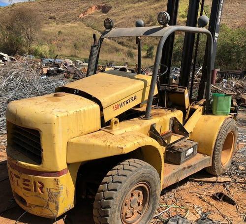 empilhadeira hyster h150j 1996 - 7 toneladas