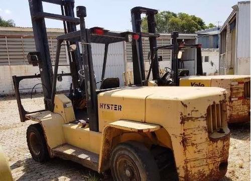 empilhadeira hyster h155 2006 para 7 toneladas