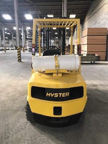 empilhadeira hyster h60 xm 3 toneladas ano 2000