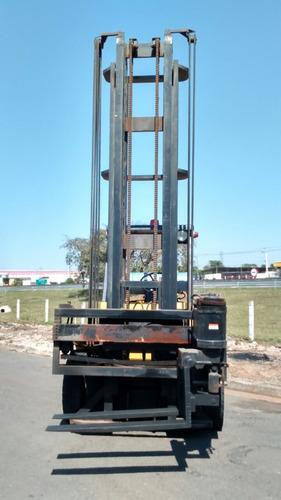 empilhadeira hyster *torre de 6,30 mt e garfo giratório*