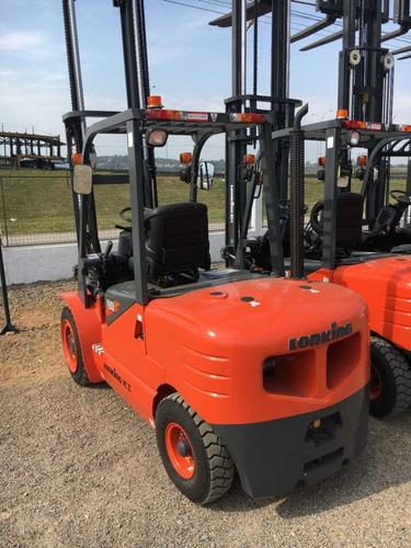 empilhadeira lonking diesel lg40, nova, zero hora, 4 ton
