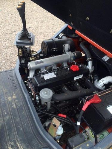 empilhadeira lonking lg25 nova diesel, 2,5 ton, torre padrão