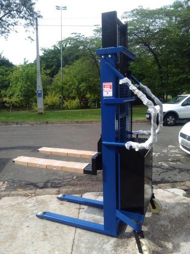 empilhadeira manual com elevação elétrica - diversos modelos